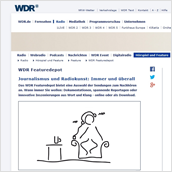 illustration webseite rundfunk